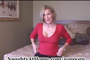 wife fucks in lingerie