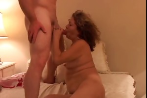 horny old spunker ivy bonks a favourable younger