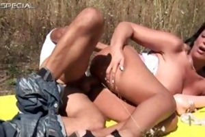 horny milf acquires screwed hard outdoor free