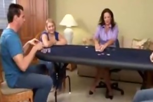 mama and not her daughter lose at poker game