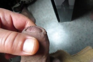 67 yr old grandpa close cum #99 jizz flow upclose
