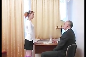 old guy have sex with youthful girl part 1