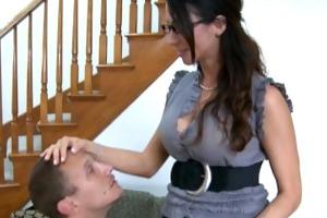 sex teacher ariella ferrera take knob outdoors