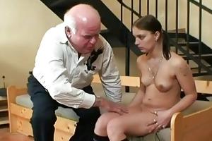 old granddad fucking youthful sweetheart