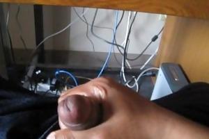 masturbating to coarse dad/son porn