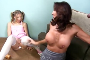 older mother tara creampied by dark in front of