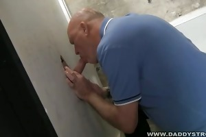 unshaved daddy at the brilliance hole