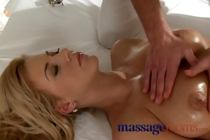 massage rooms youthful busty babe has large love