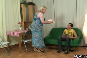 wife acquires enraged when finds her chap fucking