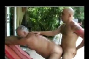 dad bear homo porn gays homo cumshots drink guy