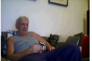 grandpapa masturbate his cock