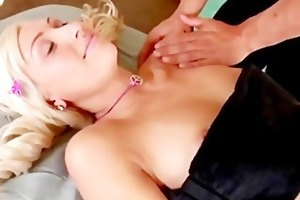 naughty 18yo blonde angel rides a jock and rammed