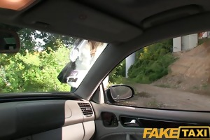 faketaxi young euro girl permeated by biggest