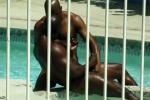 astounding black muscle hunks