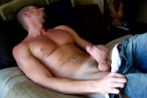 lunch time jerk off