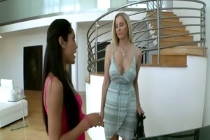 mom and daughter get fucked by monster cock julia