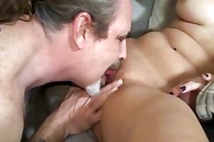 dilettante sex movie with a slender brunette