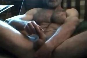 muscular bushy lascivious str8 daddy! hot verbal