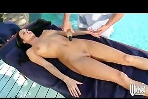 large tit milf alektra blue acquires massage and