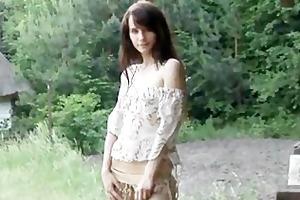 legal age teenager cutie solo masturbation and