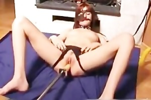 perverted mama pussy fucked by a dildo part3