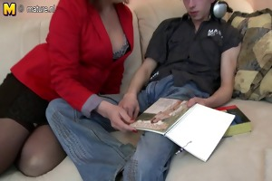 mother fucking and engulfing her toy boy