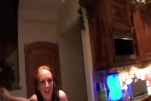 literally a sexy redhead farmers daughter naked