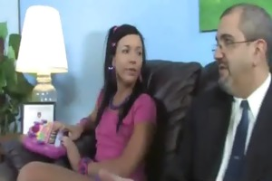my young daughter nailed by phat dark cock-thumb 4