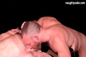sexy dad sucking large dick