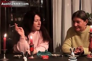 naughty excited old whores go crazy licking part2