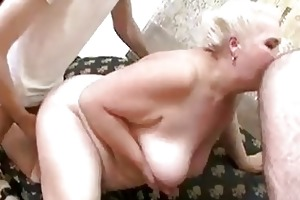 older servicing young cocks