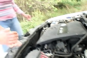 fix my car and let me engulf your cock