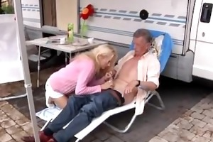 richard suggests helen to clean out the camper