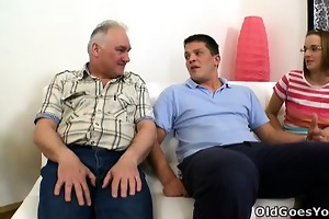 amy gives herself to this old guy, you might ask