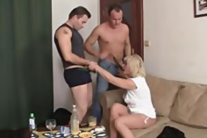 she is gets glad by big rods
