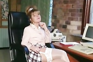 british d like to fuck doxy anna in an office
