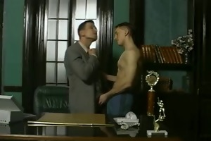 daddy and guy in the office