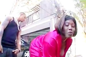 black big beautiful woman seduces younger chap