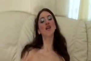 maria- russiane mamma drilled by two guys