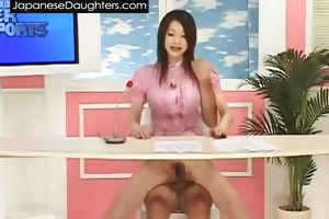 pigatil japanese daughter drilled hard by dad
