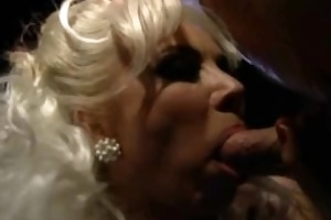 breathtaking hot blonde takes cumshots hard dp,