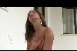 slutty natural-tit dark brown fingers juicy