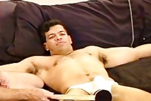 cbt, young stud receives balls bashed.