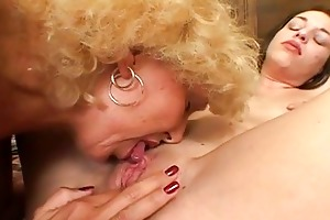 hawt old granny likes fucking young babes