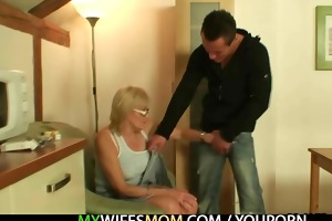 porn loving mother in law takes his cock