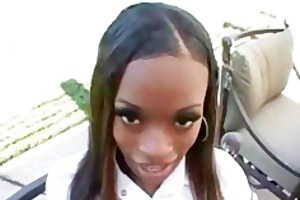 divine school girl blowjob creampie interracial