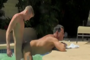 twink clip daddy poolside prick loving