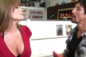 breasty older darla crane does the deed with