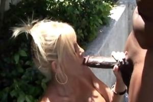 misty is getting drilled by the pool