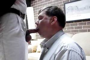 non-professional a daddy gets sucked and